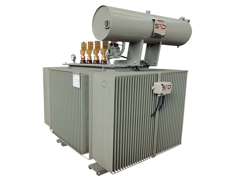 Oil Immersed Transformers With Conservator